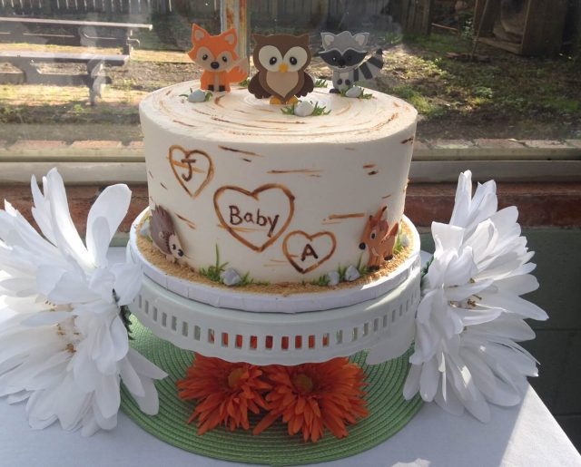 baby-forest-animal-cake