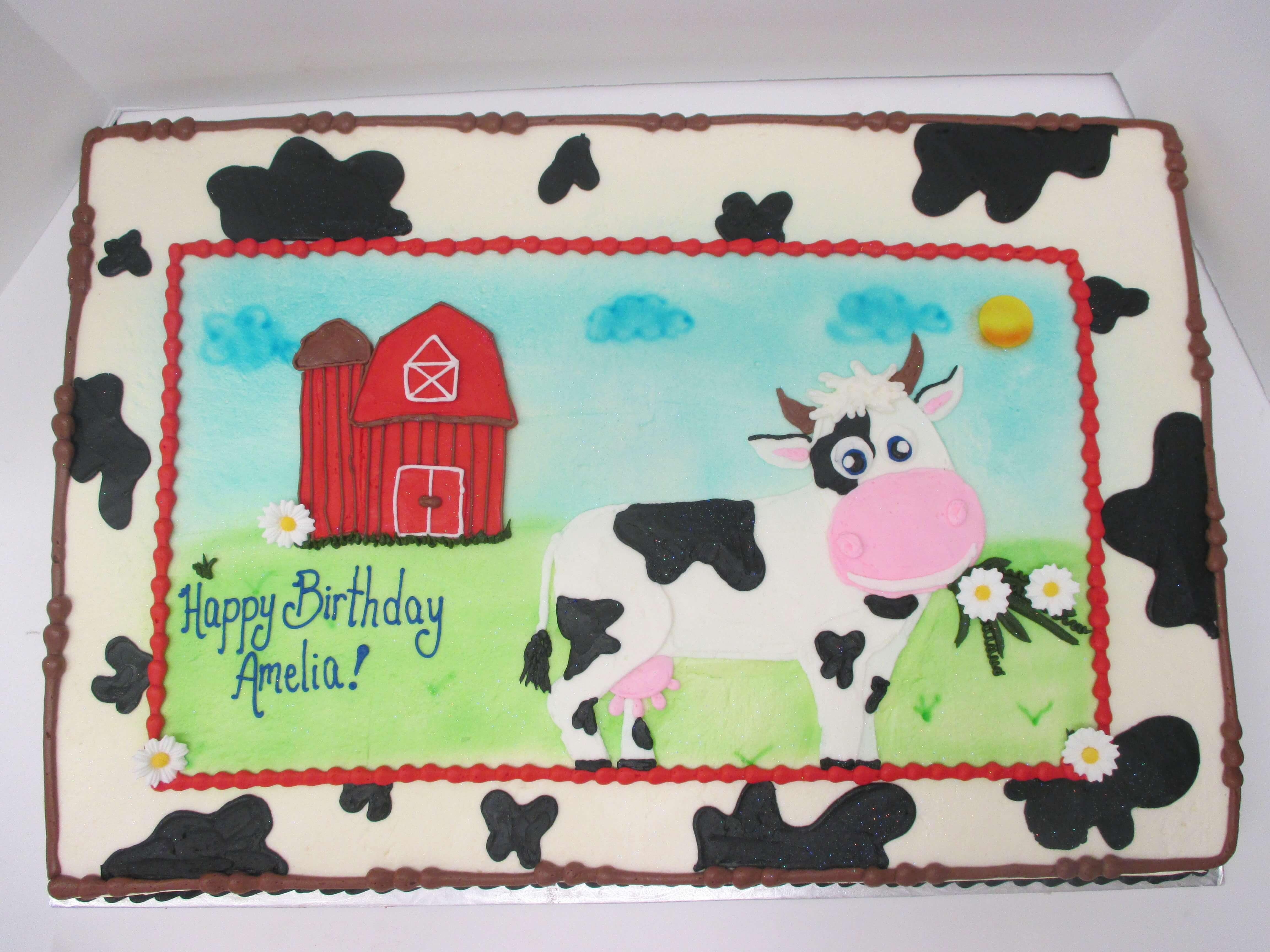 Kids Birthday Cakes The Bake Shoppe Oregon Dairy