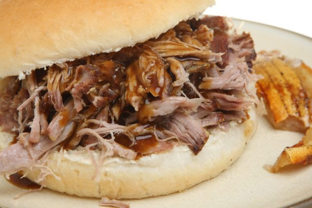 Pulled Pork or Hog Roast Sandwich