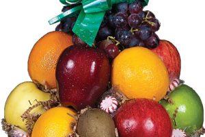 Cheerful Fruit Basket