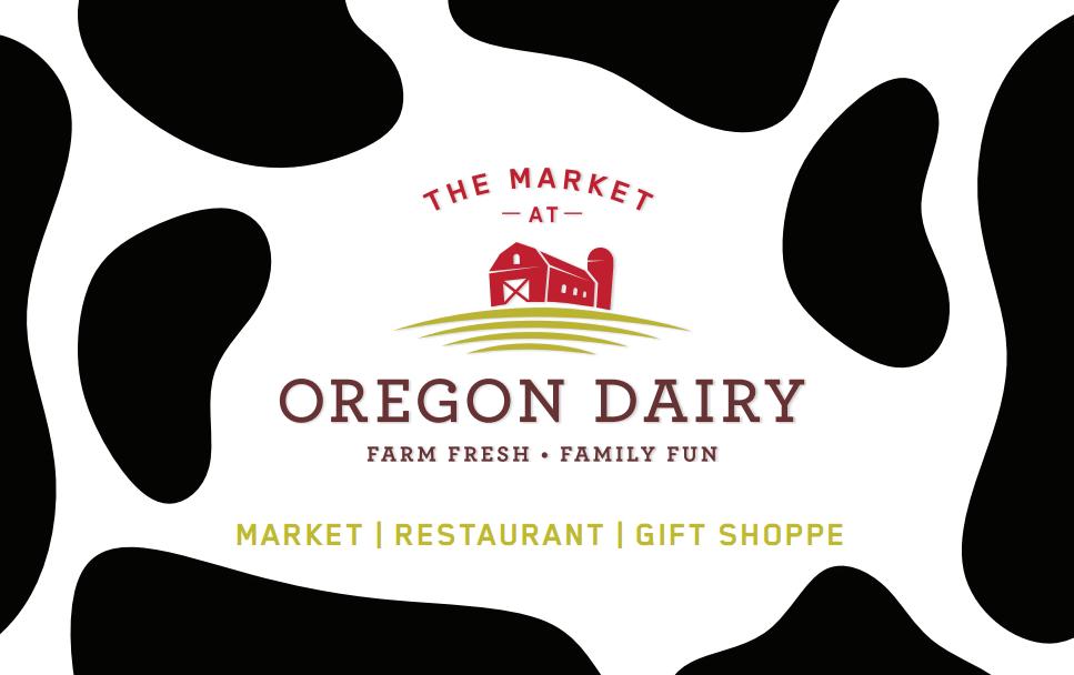 Oregon dairy gift cards gift cards oregon dairy oregon dairy gift card negle Image collections