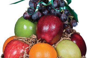 Heart-warmer Fruit Basket