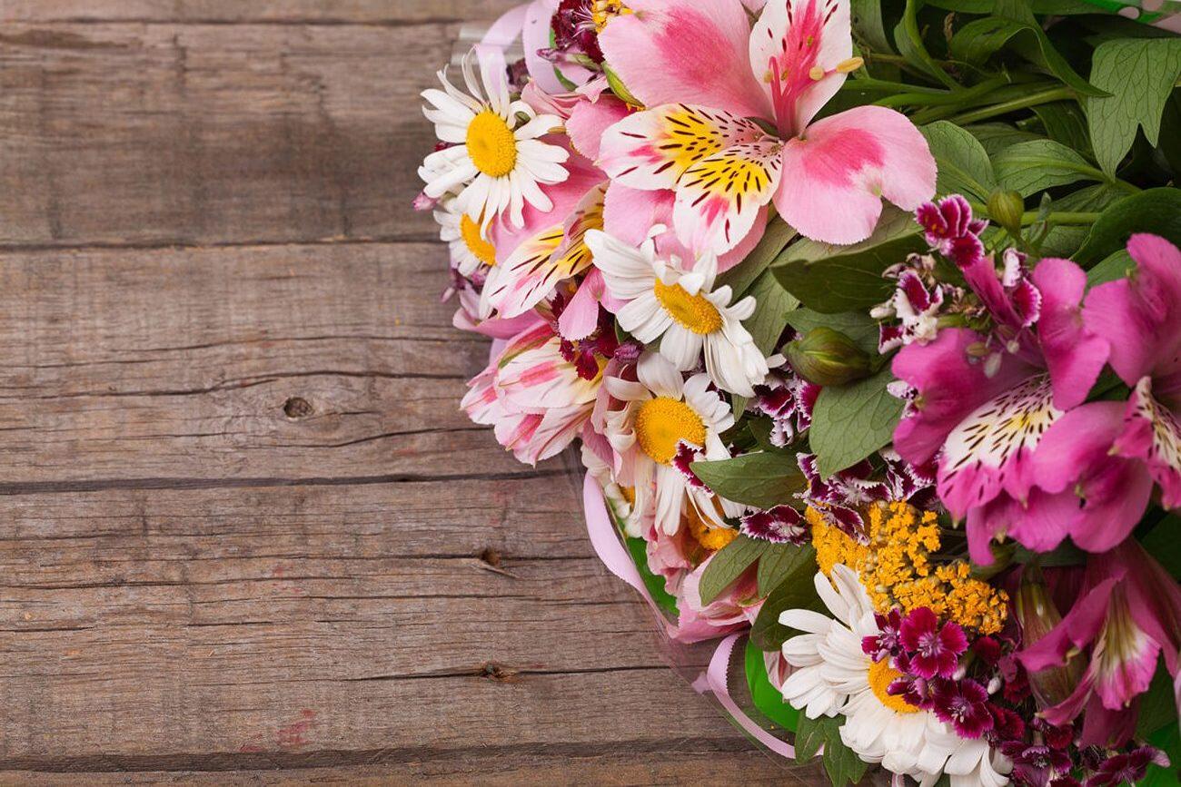 Fresh Cut Flowers Store Departments