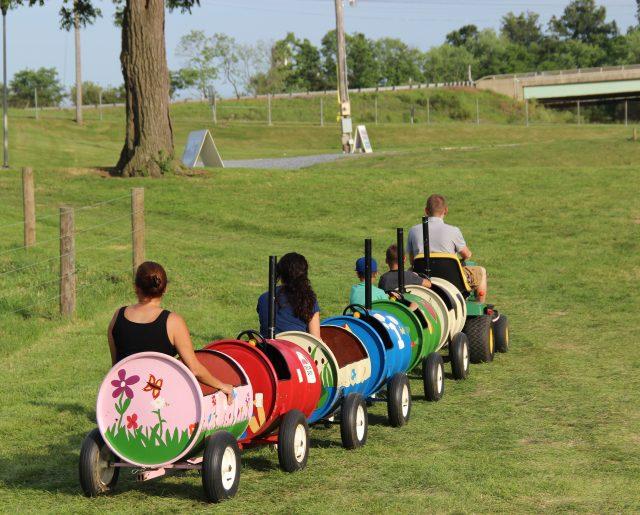 Barrel Rides - $2/ride