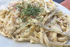 Shrimp and Seafood Alfredo