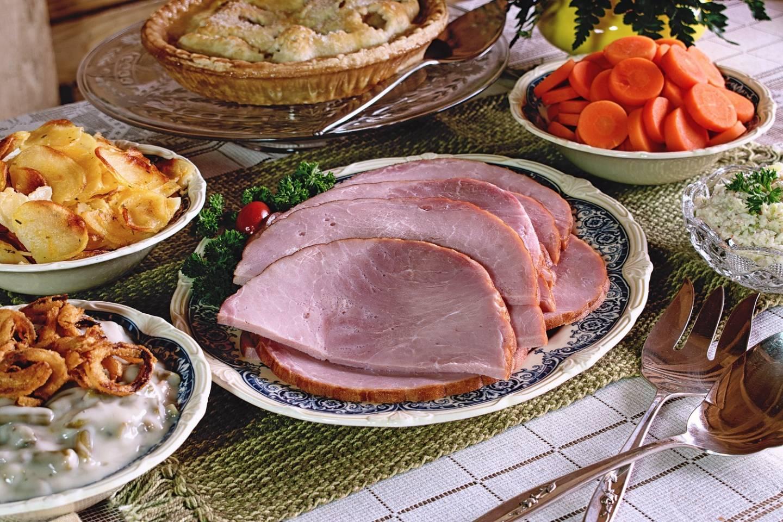 Baked Ham Dinner Serves 4 6