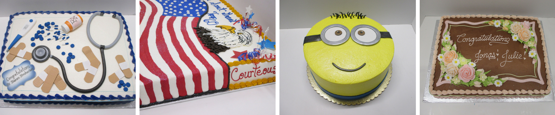 Custom Cake by Oregon Dairy