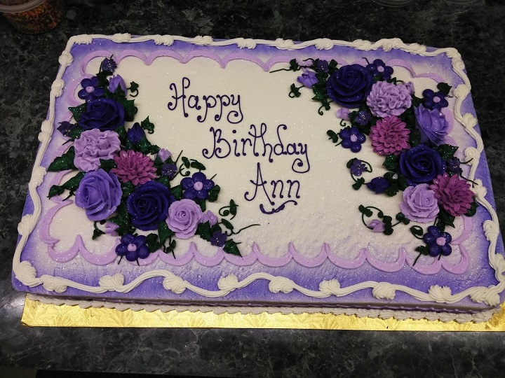 Magnificent Birthday Cakes The Bake Shoppe Oregon Dairy Personalised Birthday Cards Cominlily Jamesorg