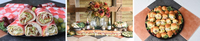 sandwich tray header